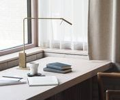 Workspace / Home Office / Workspace designs and Interior styling examples for a Study or Workspace. Ideas, concepts and inspiration gathered from all over the place.
