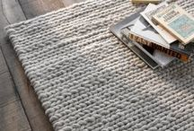 Rugs / A collection of beautiful rug designs! Rug inspiration, ideas and tips. Colour palettes, materials and textures!