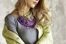 Designer clothing by Levitskaya Silk&Wool