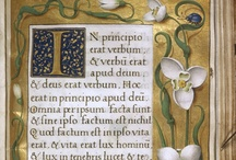 Books Everything, Illuminated Letters & Manuscripts / Also Magnificent Book Cover Art. / by Rosa de Vaux