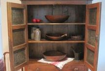 Pie Safes, Cupboards, and Cabinets