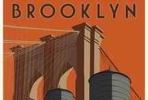 New York / Dit bord gaat over New York. De stad die bij mij in november 2013 grote indruk heeft gemaakt tijdens ons bezoek in het kader van de marathon van New York.