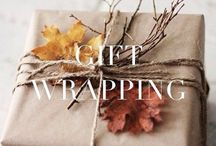 Gift wrapping ideas / Cute gift wrapping ideas for Christmas and other special moments!