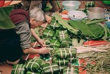 """Tetfest - Vietnams Neujahr / Tet oder Vietnamesiches Neujahr ist die wichtigste Feier der Vietnams Kultur. Das Word ist eine Kurzform von Tet Nguyen Dan, das heiß """"Erster Morgen von dem ersten Tag."""" Tetfest feiert nach dem Mondkalender der Frühlingsankunft."""
