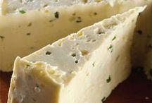 Homemade cheese and yogurt