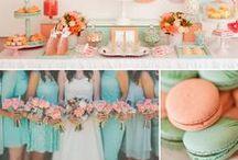 (テーマカラー)ピンクとミントグリーンがテーマの結婚式 / オリジナルウェディングを実現するには、まずはテーマカラーを決めましょう!「ピンクとミントグリーンがテーマの結婚式」のインスピレーションを集めました。シェリーマリエHPはこちらhttp://www.kawaiihanayome.com/