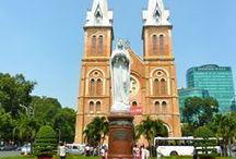 """Ho Chi Minh Stadt """"Die Perle von Fernost"""" / Ho Chi Minh Stadt ist unter verschiedenen Namen bekannt: für die Franzosen gilt diese Stadt als """"Pearl of the Far East"""", die Amerikaner/ Amerikanerinnen nennen Sie """"Saigon"""" und die Chinesen geben ihr den Namen """"Cho Lon"""".  Ho Chi Minh Stadt ist der geschäftigste Stadt Vietnams."""