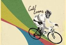 Cycling Posters and Jerseys / Cycling posters and cycling jerseys.