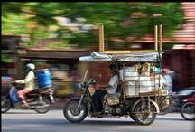 Das Alltagsleben in Vietnam / Reisen bedeutet, dass Sie nicht nur Sehenswürdigkeiten sehen, sondern auch etwas Neues von der Kultur sowie von dem Alltagsleben erfahren...
