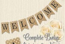 無料ダウンロードできるガーランドのテンプレート / 結婚式の前撮り撮影や、ウェルカムスペースの飾り付けに役立つガーランドを手作りしましょう!インターネット上から無料ダウンロードできるものを集めました。センスあふれるデザインがたくさん!厚手の用紙にプリントすればOK!