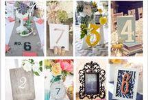 結婚式のゲストテーブルに飾るテーブルナンバー / 海外のウェディングには、マネしたいアイデアがいっぱい!ゲストテーブルに置くテーブルナンバーのイメージ写真を集めました。