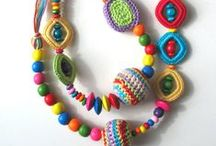 colorful necklaces / colorful necklaces  handmade