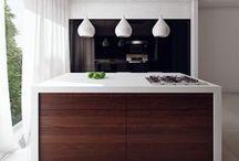 Home - Kitchen / Kitchens, organized and clean minimalism