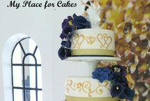 Gorgeous wedding cakes