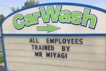 Humorous Signs / Funny things you read on signs everywhere! / by Diane Thayer