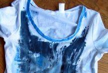 T.shirts / una raccolta di magliette dipinte e decorate a mano come pere d'arte. Pezzi unici ed esclusivi creati con l'ispirazione del momento.