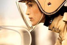 Pour les filles qui roulent - For ladies whom ride / Feminine motorcycle riding fashion