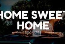 HOME SWEET HOME / Home sweet home.