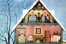 House. / Illustrations on Houses, activities and DIY for your house.