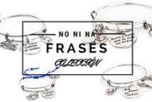 Pulseras Frases / Pulseras con frases Positivas Fabricadas con un Baño de Plata de 8 micras.