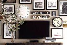 Decorate around a tv