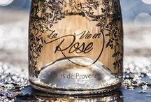 """La Vie en Rose / Cuvée """"La Vie en Rose"""" de Château Roubine Vin Rosé Côte de Provence #vin #wine #french #France"""