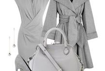Ash Gray Outfits