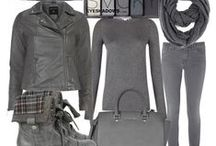 Charcoal Gray Outfits