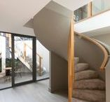 STAIRCASES / A selection of staircases from properties that are, or have been, for sale with The Modern House www.themodernhouse.com