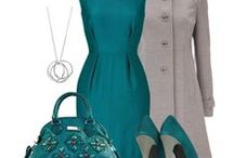 Teal Outfits