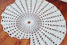 carpet crochet - dywany szydełkowe