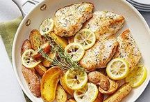 Chicken Recipes / A collection of Pinterest's best Chicken recipes - chicken breast recipes | chicken crockpot recipes | easy chicken recipes | chicken dinner