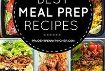 Meal Plan Tips / A collection of Pinterest's best meal plan tips - meal prep for the week | meal prep ideas | meal prep recipes | meal prep cleaning eating | healthy meal prep