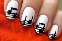 uñas con diseño