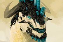Concept art creatures