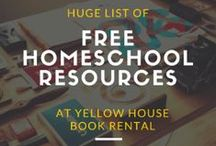 Free educational resources and printables / Links to free learning websites, printables, and activities