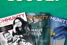 Community Magazine / Read the newest issues of Community magazine, a quarterly digital publication for patients, caregivers, health professionals and advocates. Find the archives here: http://www.caringvoice.org/community/
