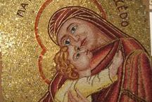 Mosaics as a theological expression / Mosaic art craft is antique and recalls the golden times of the Ravenna Romanesque with its striking oriental resonance. It is not by chance that the most important School of Mosaic Craft in the world still continues in Friuli.