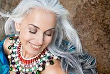Silver Sisters / Women who wear their beautiful silver hair with pride. :-)