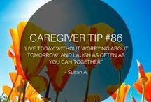 Caregiving / Some of the most selfless people in the world are caregivers. We'll keep you updated on new resources, infographics and words of encouragement for all the caregivers out there.