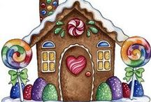Christmas - Gingerbread... / by Terri Eagan