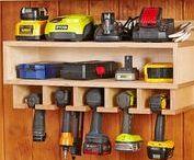 Workshop Organization / Workshop and garage drawer organizers