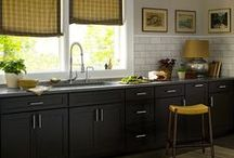 kitchen ideas / Kitchen colours and design ideas
