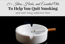 "Quitting Smoking Cigarettes / Quitting smoking cigarettes is one of the most difficult things to do.In terms of ""degree of difficulty"", nicotine addiction has been been compared with heroin. Nearly 7 out of 10 cigarette smokers want to stop. Half have tried at least once in the past year."