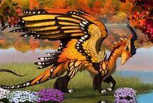 Dragons / Dragons, dragons and more dragons