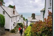 CLOVELLY ART PRINTS - NORTH DEVON / A selection of fine art photographic prints of Clovelly in North Devon, South West England, UK from photos by me, Richard Brookes. Please click on image / link to see different formats, sizes and products available.