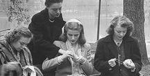 WW2 Women at War, Fashion & Ration, Make Do & Mend / Research for 'Violet Vintage' a children's story set in London in 1944 during WW2.