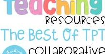 Teaching Resources The Best of TpT / Check out these AWESOME Teaching resources from Teachers Pay Teachers! Collaborators- Feel free to pin up to 3 pins per day and 1 freebies. Thank you for your contributions. If you would like to join this board please email me at teachingbiilfizzcend@gmail.com ~Feel free to add more collaborators.