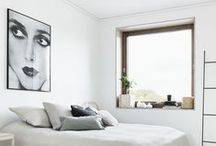 Space / Modern, elegant and clean interiors