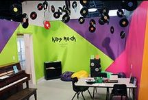 Kids Rock! Kids Activity Room (LCVA) / An Interactive Art & Music Space for Children! Explore music and art through the LCVA's hands-on art room for kids of all ages, located in Downtown Farmville, VA.